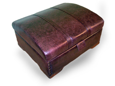 Leather Treasure Chest bed